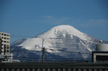 長浜駅から見る伊吹山