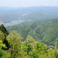 写真: ケーブル比叡駅側からの眺め