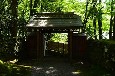 山門越しの風景