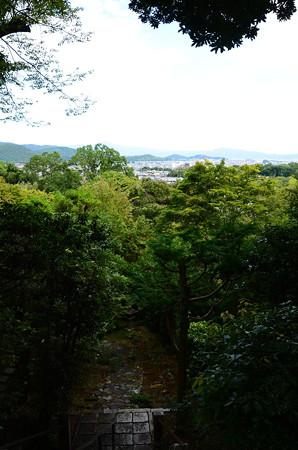 境内から仁和寺を経て比叡山