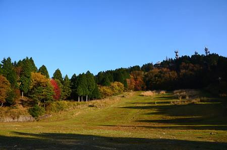 秋晴れの比叡山