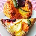 Photos: マルマル キッシュとピザ