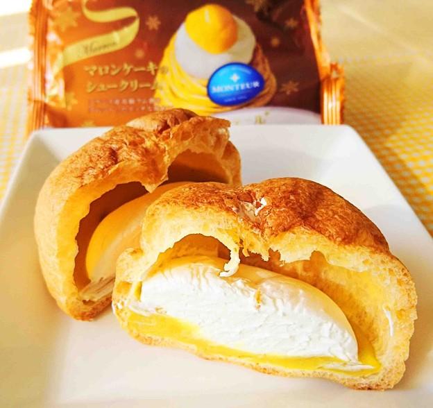 モンテール マロンケーキのシュークリーム