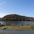 晩秋の菅湖1