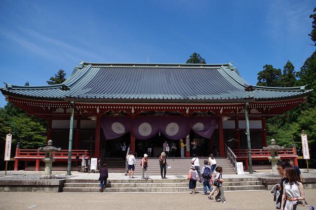 Photos: 延暦寺東塔大講堂