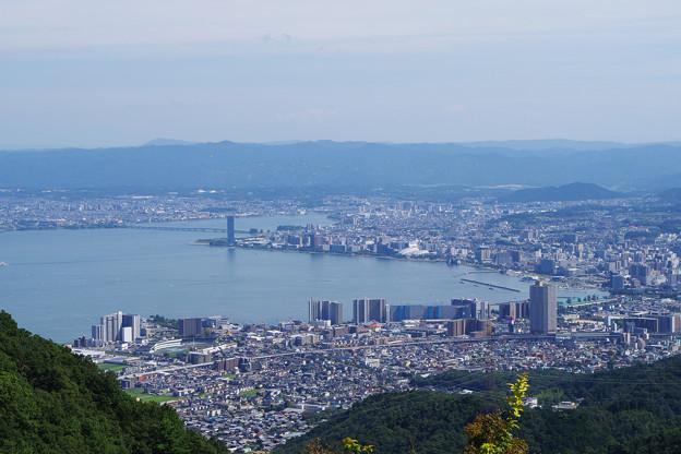 Photos: 大津市を望む