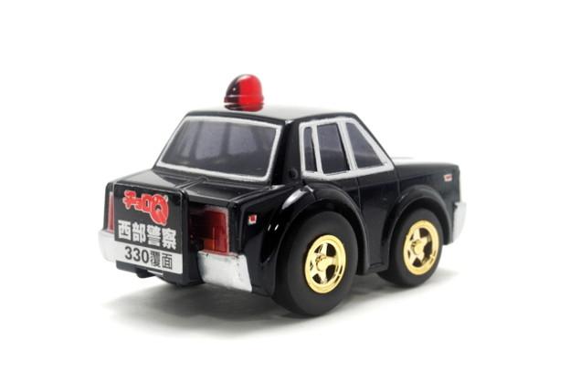 アオシマ_チョロQ 西部警察セット No.3 330 CEDRIC PATROL CAR MASKED TYPE_003