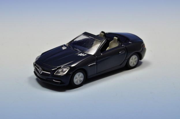 GEORGIA_メルセデス・ベンツ ダイキャストオープンカー Mercedes-Benz SLK Class_001