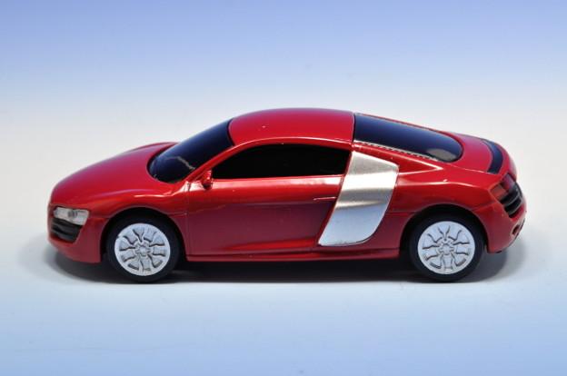 写真: サントリーボス_アウディコレクション Audi R8_003
