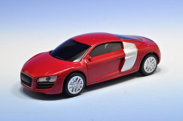 写真: サントリーボス_アウディコレクション Audi R8_001