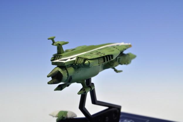 メガハウス_コスモフリートコレクション 宇宙戦艦ヤマト さらば友よ編 高速中型空母ナスカ_007