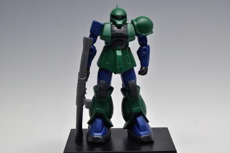バンプレスト_MOBILE SUIT GUNDAM ミニフィギュアコレクション5 MS-05B ザクI_001
