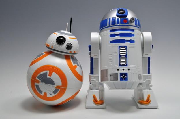 タカラトミー_STAR WARS サウンドドロイド ブラブラ R2-D2 ユラユラ BB-8