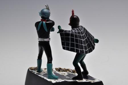 バンダイ_ライダー怪人名鑑 仮面ライダー対蜘蛛男_007