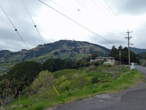 茶文字の見える山へ行ってきたです