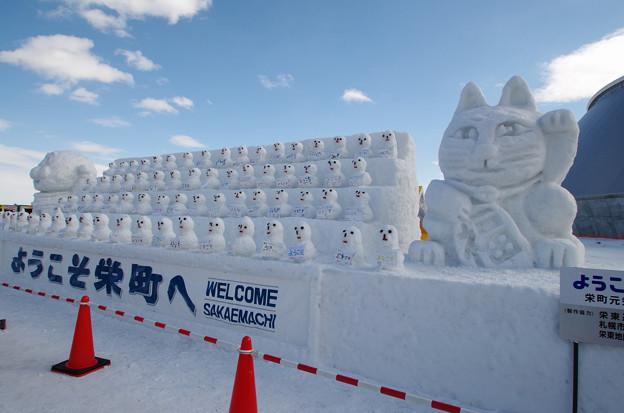 札幌雪まつり つどーむ にて (1)