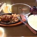 Photos: ハンバーグと生姜焼き