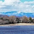 写真: 栃木方面の山並み