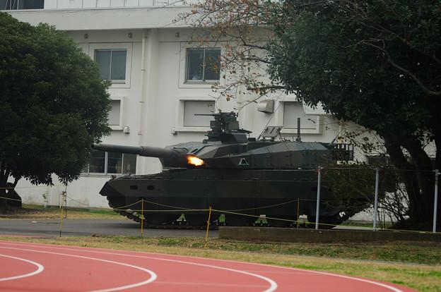 Photos: 10式 74式車載7.62mm機関銃射撃