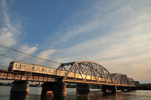 京成線堀切橋3000形