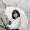 花散らす雨。