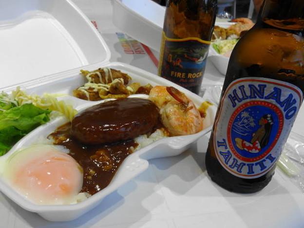 ヒナノビール&ロコモコ