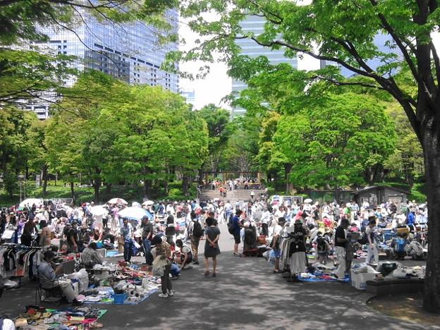 フリマ@新宿中央公園170506