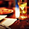 写真: シャレオツなディナー