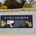 Photos: 木下恵介生誕100年碑