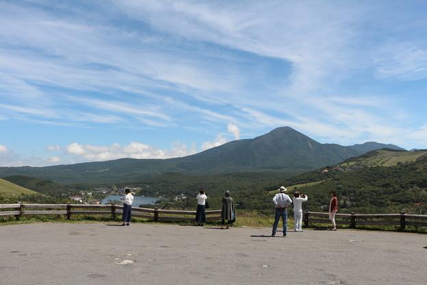 蓼科山の景観