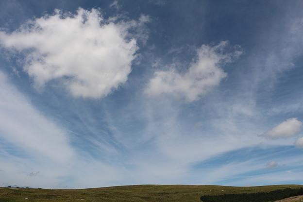 心が和む吹き出し雲