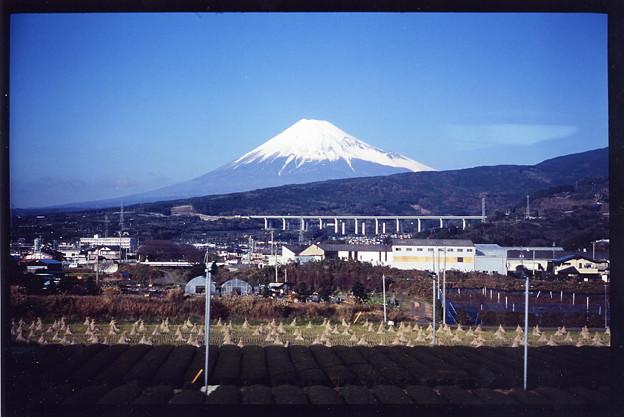 車窓・富士山1