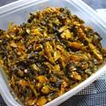 常備菜の定番高菜の油炒め