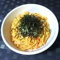 Photos: 辛子明太子とウニのスパゲッティ