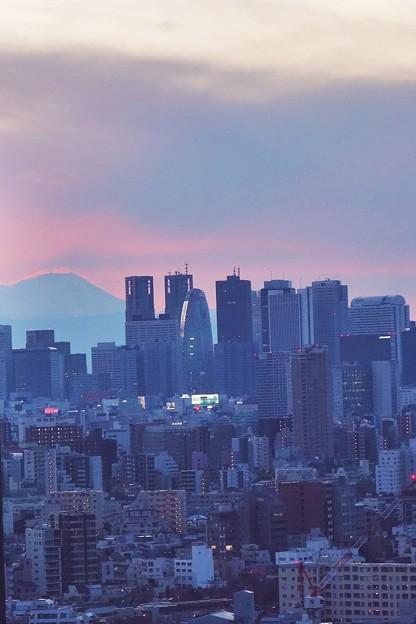 写真: ちょっと出の富士山