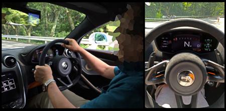 McLarenに乗せていただく