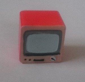 ミニオブジェ(昭和家電) テレビ
