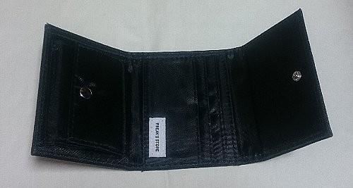 mini フリークス ストア特製 クラシックミッキー 上質レザー調 三つ折り財布