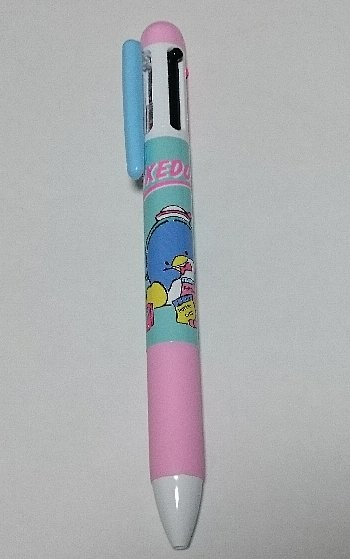 タキシードサム×サンキューマート 3色ボールペン+シャープペン