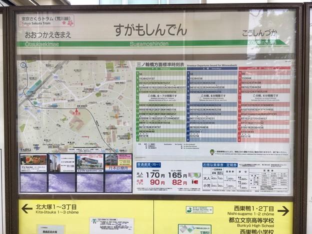 写真: 巣鴨新田停留場 Sugamoshinden Sta.