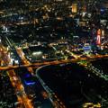 写真: 新世界の夜景2-01345