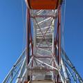 写真: 摩天輪支架