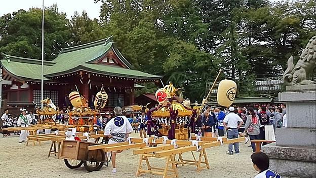 立川諏訪神社例大祭にて