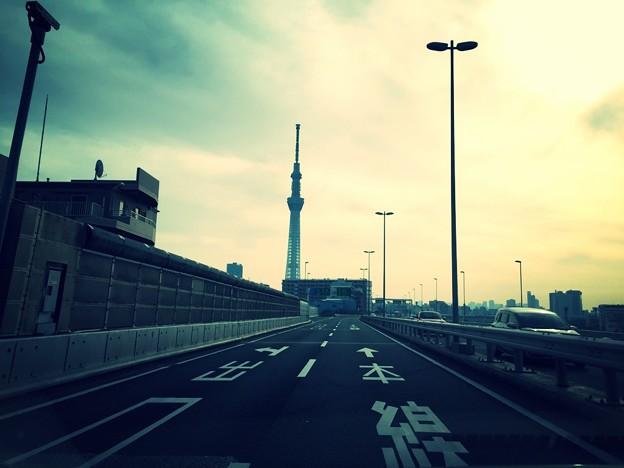 Wow...no traffic...^^v