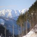 Photos: 妙法山、野谷荘司山 かな