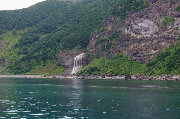 カムイワッカの滝@2013北海道旅行最終日