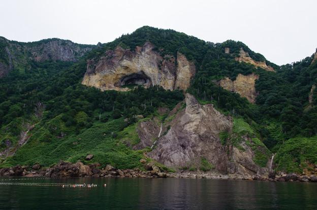 知床半島の岩々@2013北海道旅行最終日