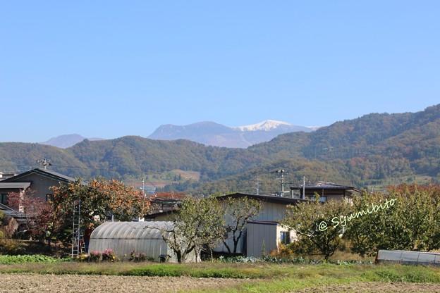 蔵王 初冠雪 2014年度