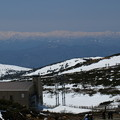 写真: 蔵王山頂から望む