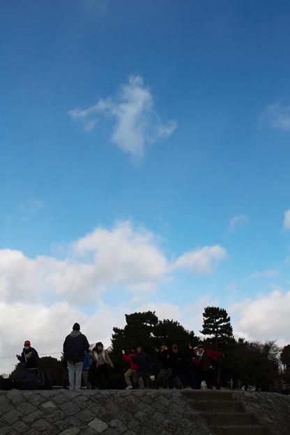 Photos: 雲と踊り